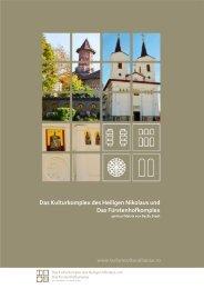 Werbebroschüre - COMPLEXUL CULTURAL SF. NICOLAE