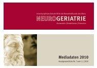 GERIATRIE - Hippocampus Verlag KG