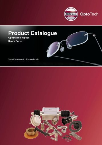 Download Catalogue Spare Parts - OptoTech