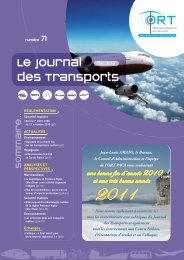 Le Journal des transports n° 71 - ORT PACA