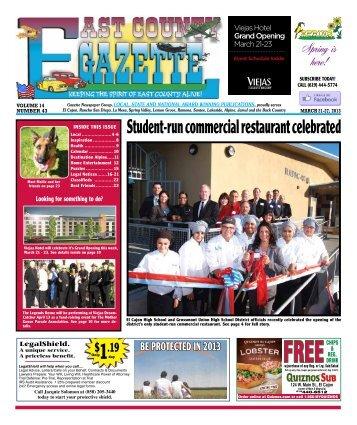 21 - East County Gazette