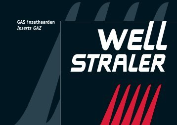 Inzethaarden met ventilator - Well Straler