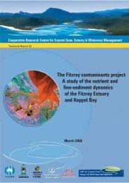 The Fitzroy Contaminants Project - OzCoasts