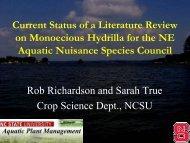 presentation - Northeast Aquatic Nuisance Species Panel