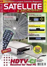 The World's Largest Satellite Magazine - Spaun