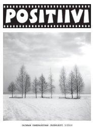 Positiivi 3/2010 - Suomen Kameraseurojen Liitto ry
