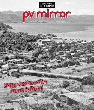 SATURDAY 26, MAY FRIDAY 1, JUNE ISSUE 188 ... - pvmcitypaper