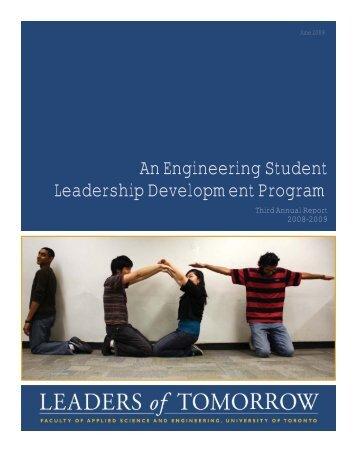 LOT Annual Report 2008-2009 - ILead - University of Toronto