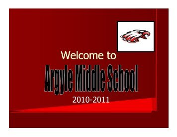 Welcome to - Argyle Independent School District