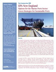 Green Strategies for Sustainable Ports - Northeast Diesel ...