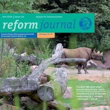 Heft 1/12.www - GWG Reform E.g.