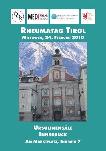 Rheumatag Tirol