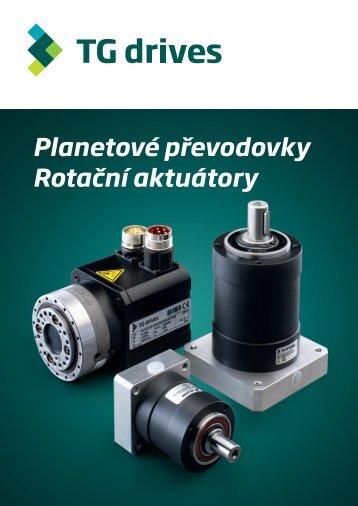 Katalogový list planetových převodovek a rotačních ... - TG Drives