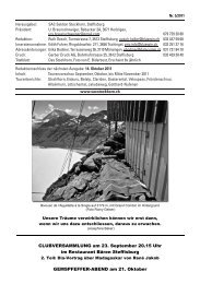 Das Stockhorn Heft 5/2011 - SAC Stockhorn