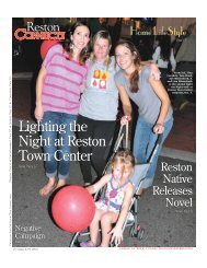 Lighting the Night at Reston Town Center Lighting the ... - Ellington