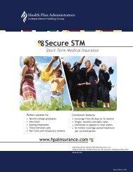 Secure STM - Health Plan Administrators, Inc.