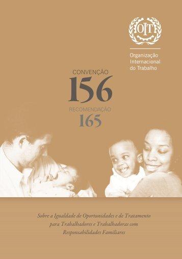 Convenção 156 - Organização Internacional do Trabalho
