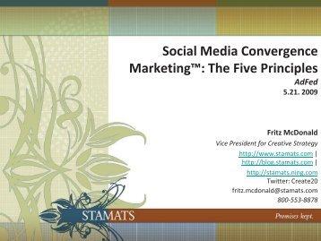 Social Media Convergence Marketing - American Advertising ...