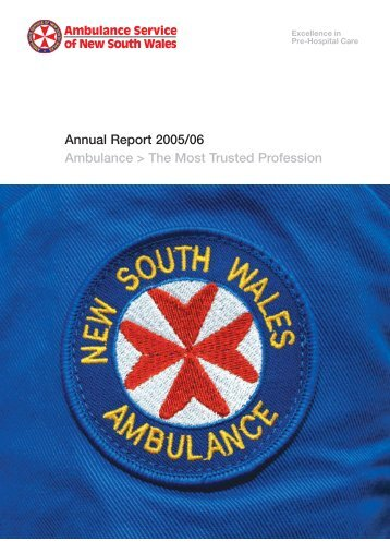 Annual Report 2005-06 pages 1 - 30 PRINT.pmd - Ambulance ...