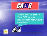 CAIRS& - California Alliance of Information & Referral Services