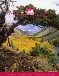 2010 Fall Mono Lake Newsletter - Mono Lake Committee