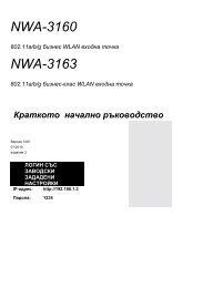 NWA-3160 NWA-3163 - ZyXEL