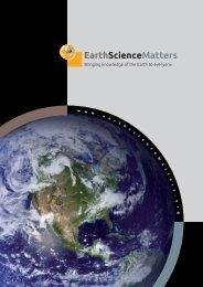 w ww.earthsciencematters . org - International Year of Planet Earth