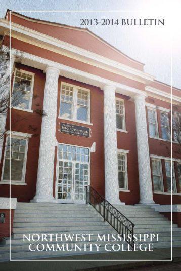2013-14 Bulletin - Northwest Mississippi Community College