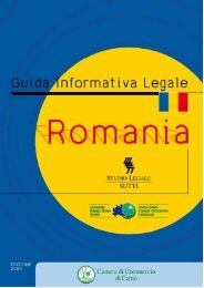 Romania - Camera di Commercio