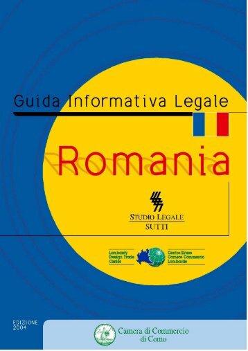 Romania - Camera di Commercio