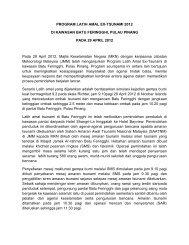 Latih Amal Ex-Tsunami 2012 di Pulau Pinang pada 29 April 2012