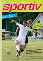 September/Oktober 2011 - Sportiv