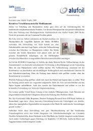 Teich - European Aluminium Foil Association