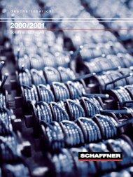 Geschäftsbericht Schaffner Holding AG