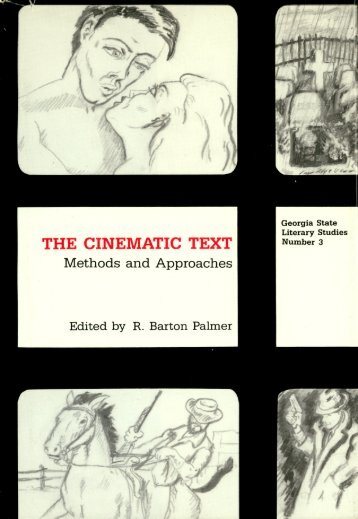 'Historical Poetics of Cinema', in The Cinematic Text - David Bordwell
