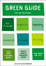GREEN GUIDE - Markham Publishing