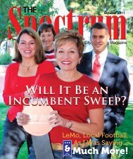 Will It Be an Incumbent Sweep? - The Spectrum Magazine