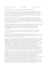 Varsinaisen yhtiökokouksen päätöksiä - Tecnotree