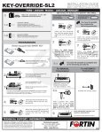 KEY-OVERRIDE-SL2 - Fortin Electronic Systems - Page 4