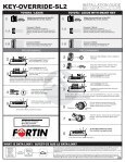 KEY-OVERRIDE-SL2 - Fortin Electronic Systems - Page 5
