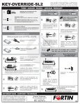 KEY-OVERRIDE-SL2 - Fortin Electronic Systems - Page 6
