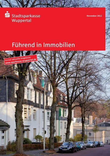 Führend in Immobilien - Stadtsparkasse Wuppertal