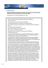 Direttiva 1999/93/CE del Parlamento europeo e del Consiglio, del ...
