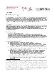 Juni 2012 Model Ondersteuningsplan - Passend Onderwijs