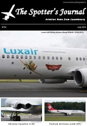 July 2013 - Aviation Photography Luxembourg