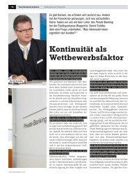 Kontinuität als Wettbewerbsfaktor - Stadtsparkasse Wuppertal