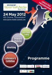 24 May 2012 - SPONSORs Sports Media Summit