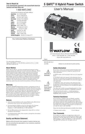 e safe ii ez zone pm wiring examples watlow e safeÃ'® ii hybrid power switch user manual rev c