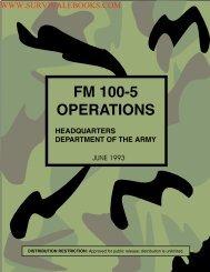 FM 100-5 Operations - Survival Ebooks Military Manuals Survival ...