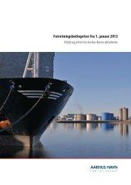 Forretningsbetingelser fra 1. januar 2013 - Århus Havn